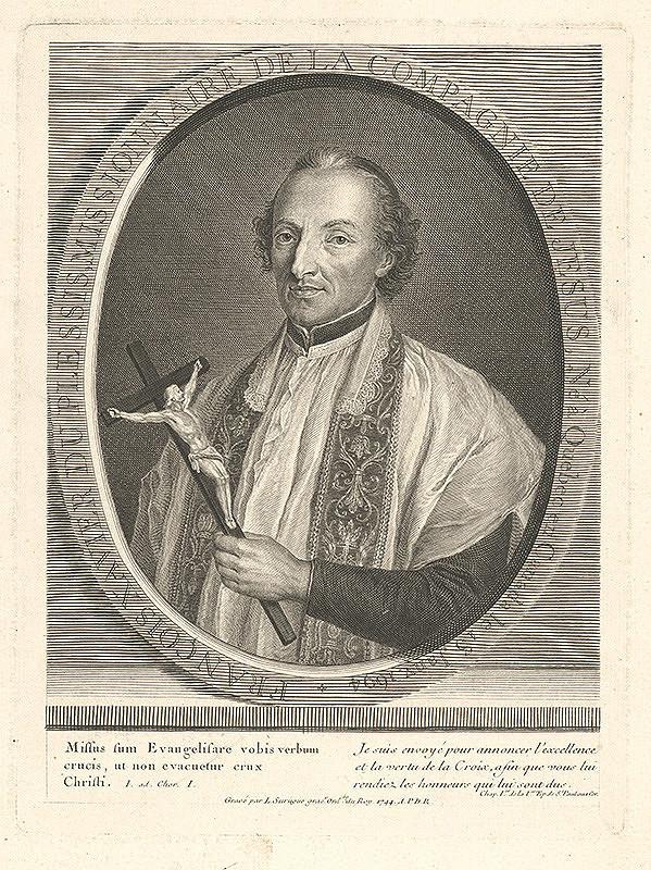 Pierre Louis Surugue - Portrét Francisca Xaviera
