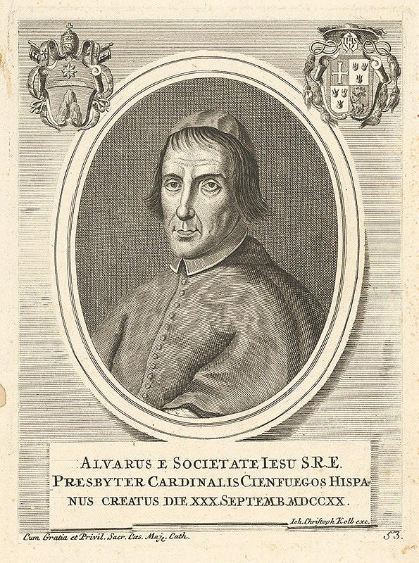 Nemecký grafik z 18. storočia – Portrét presbytera Alvarusa