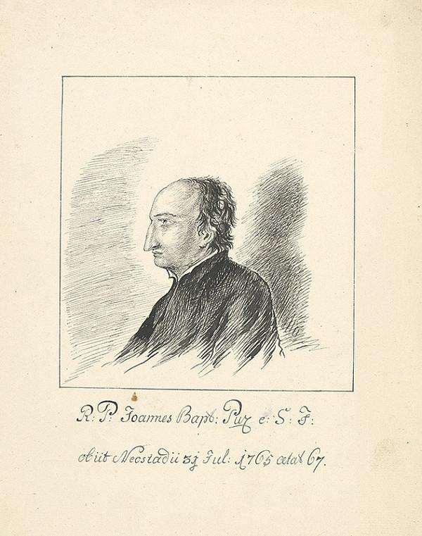 Nemecký grafik z 19. storočia – Portrét muža