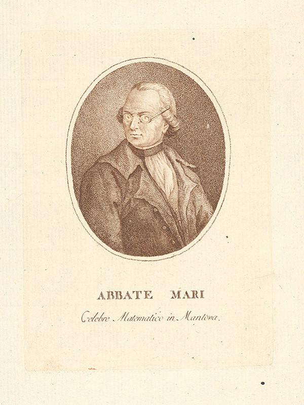 Nemecký grafik z prelomu 18. - 19. storočia – Portrét muža
