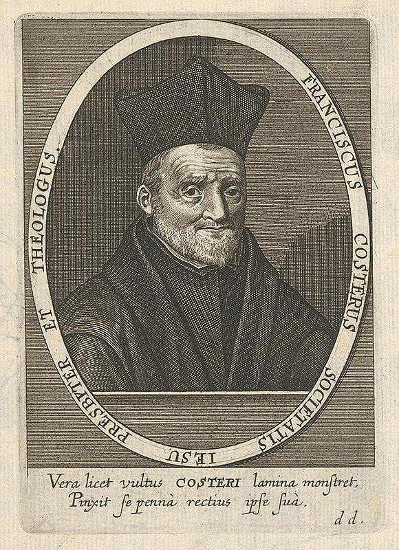 Stredoeurópsky grafik z prelomu 17. a začiatku 18. storočia - Portrét Francisca Costera