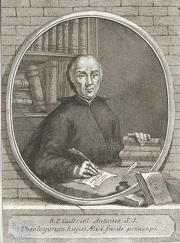 Stredoeurópsky grafik z 18. storočia – Gabriel Antoine
