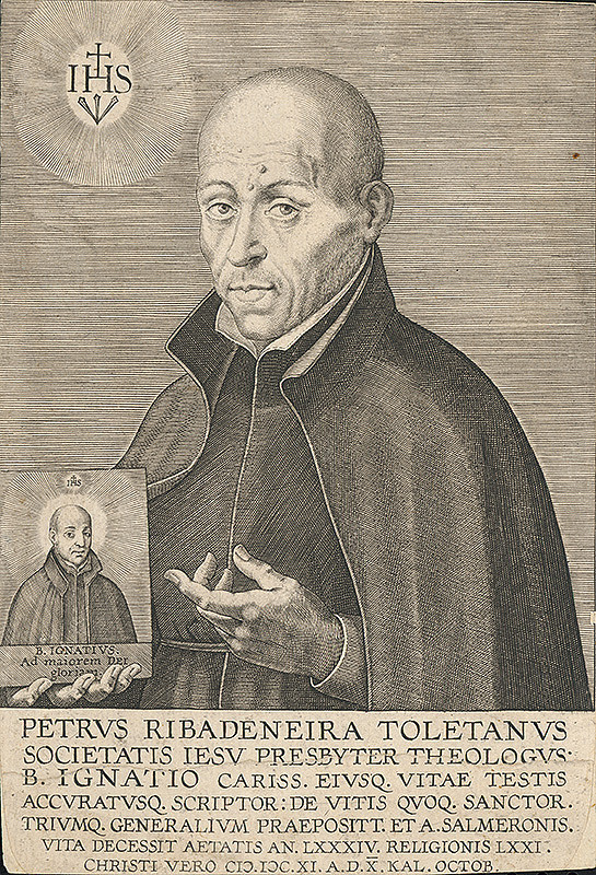 Stredoeurópsky grafik z 18. storočia – Portrét Petra Toletanusa