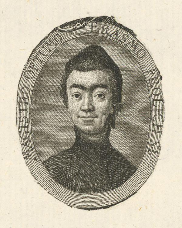 Stredoeurópsky grafik z 18. storočia - Portrét E. Frolicha