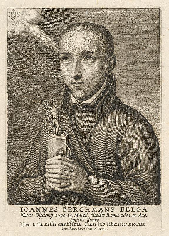 Jean Baptiste Barbé – Portrét I. B. Belga