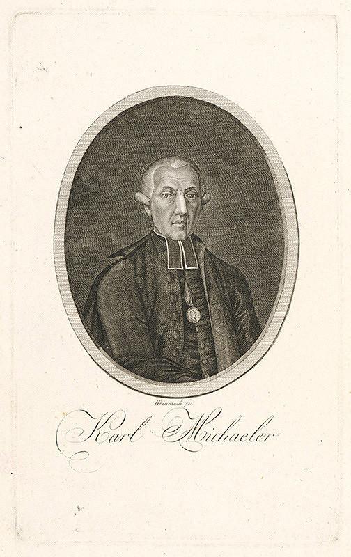 Johann Caspar Weinrauch – Portrét Karola Michaelera