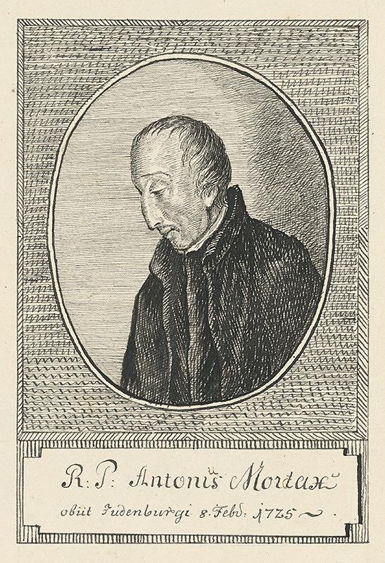 Stredoeurópsky grafik z 18. storočia - Antonis Mordax