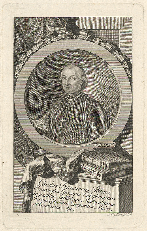 Johann Ernst Mansfeld - Carolus Franciscus Palma