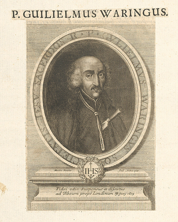 Stredoeurópsky grafik zo 17. storočia – Portrét P.Guiliema Waringusa