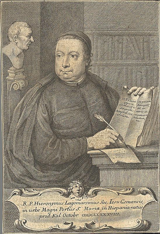 Stredoeurópsky grafik z 18. storočia - Portrét Hieronyma Lagomarsinia