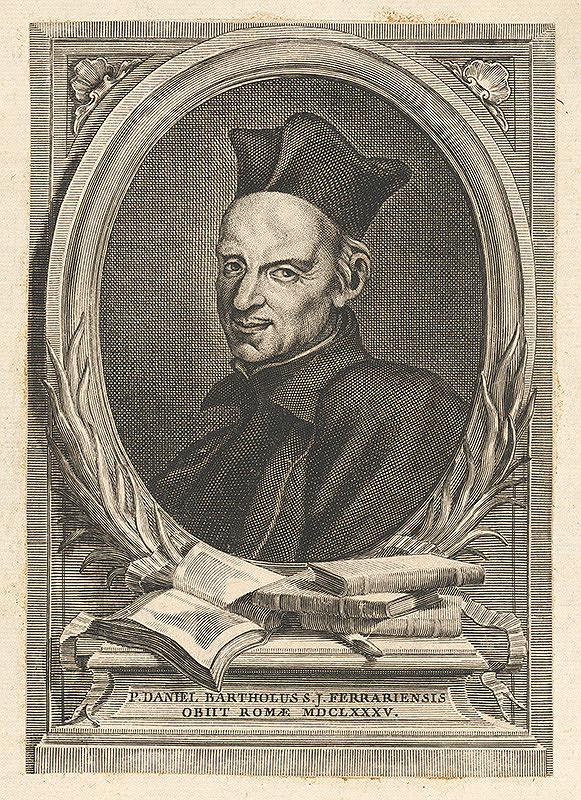 Stredoeurópsky grafik z 18. storočia – Portrét Daniela Bartholusa