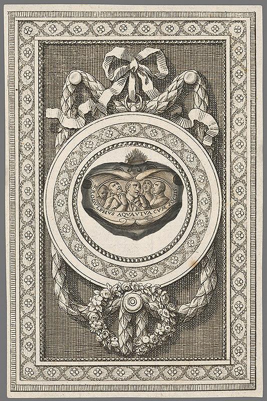 Stredoeurópsky grafik z 18. storočia – Medaila