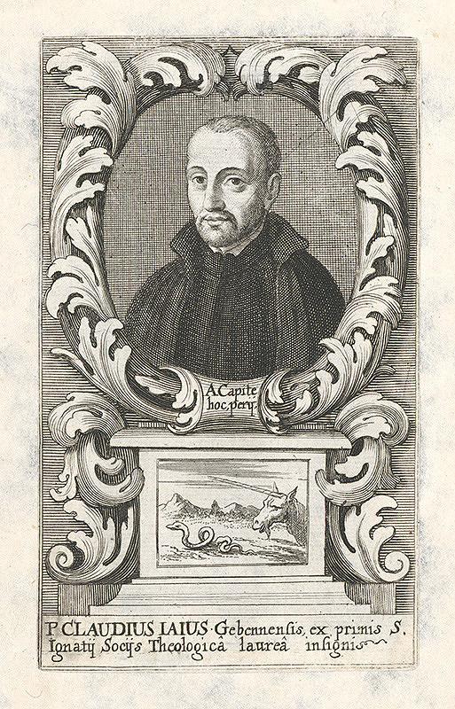 Stredoeurópsky grafik z 18. storočia – Portrét Claudiusa Iausa