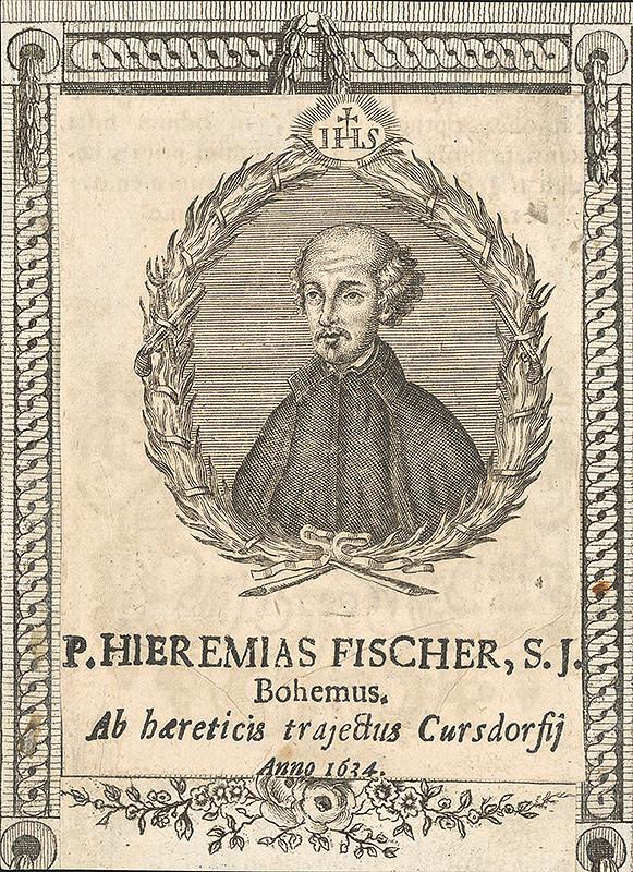 Stredoeurópsky grafik zo 17. storočia – Portrét Jeremiáša Fischera
