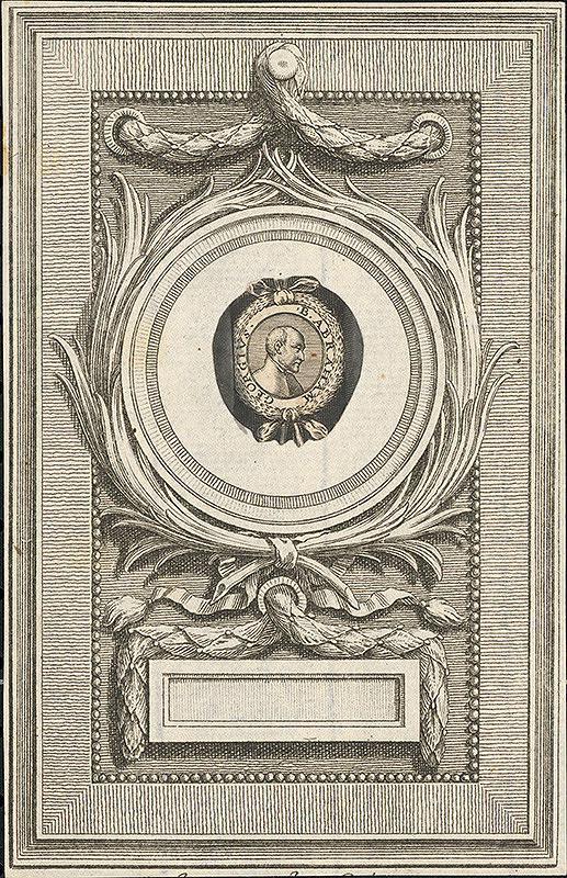 Stredoeurópsky grafik z 18. storočia – Portrét B. Abrahama Georgia