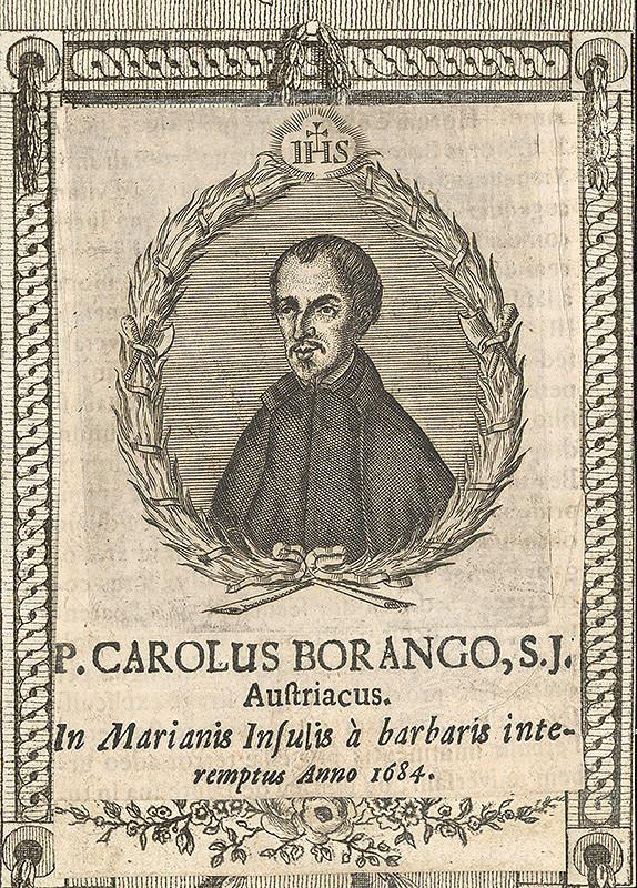 Stredoeurópsky grafik zo 17. storočia - Portrét P.C.Boranga