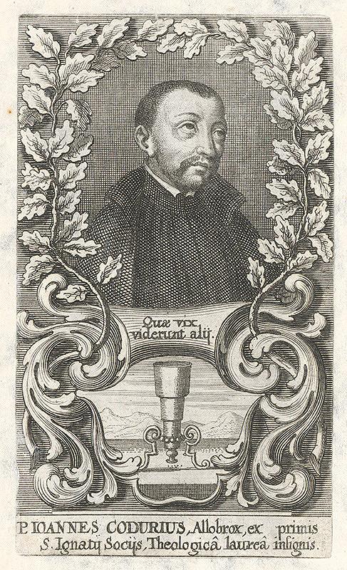 Stredoeurópsky grafik z 18. storočia - P. Ioannes Codurius