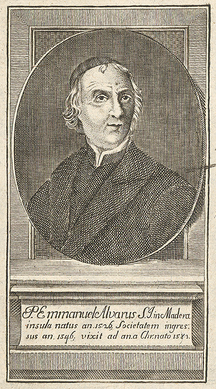Stredoeurópsky grafik z 18. storočia – Portrét P. Emanuela Alvarusa