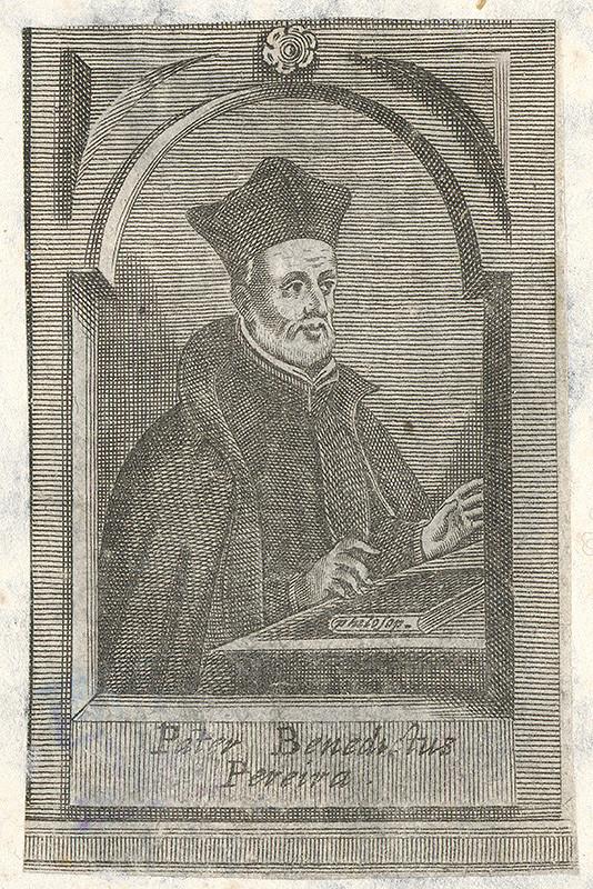 Stredoeurópsky grafik zo 17. storočia – Portrét Benedikta Pereiru