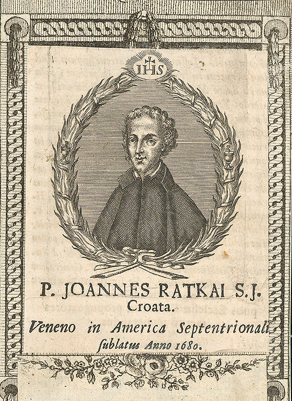 Stredoeurópsky grafik zo 17. storočia - Portrét Johana Ratkaia