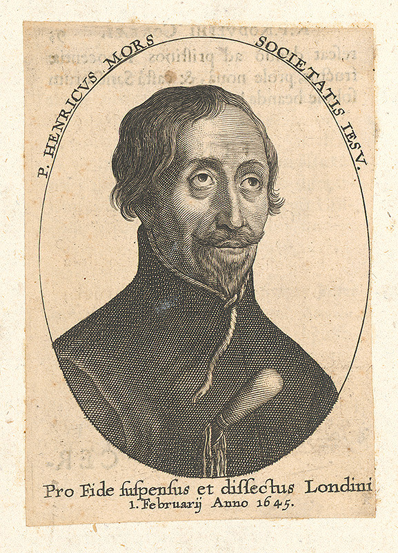 Nemecký grafik zo 17. storočia - Portrét P.Henrika Morsa