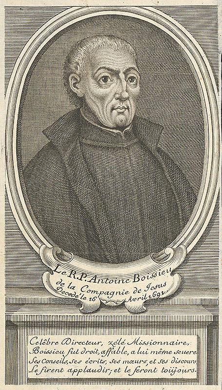 Stredoeurópsky grafik zo 17. storočia - Portrét Antoana Boisseau-a