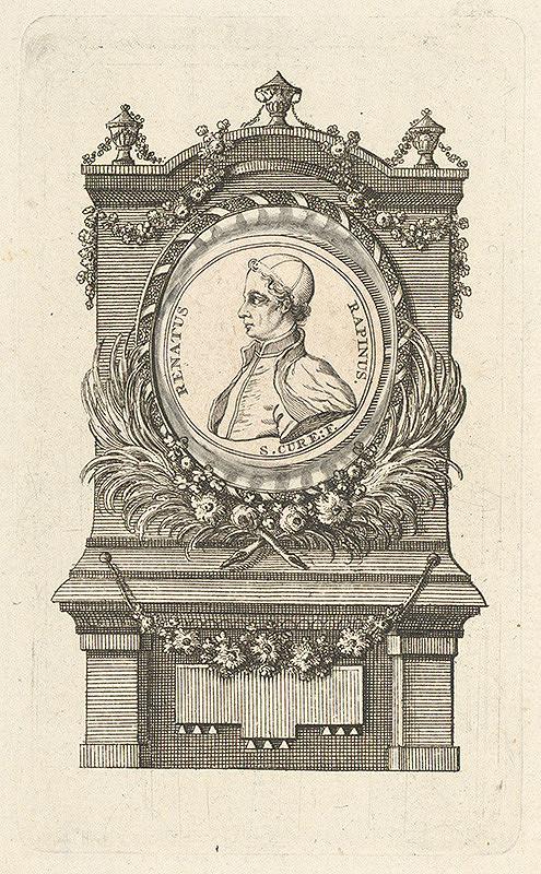 Stredoeurópsky grafik z 18. storočia - Portrét Renatusa Rapinusa