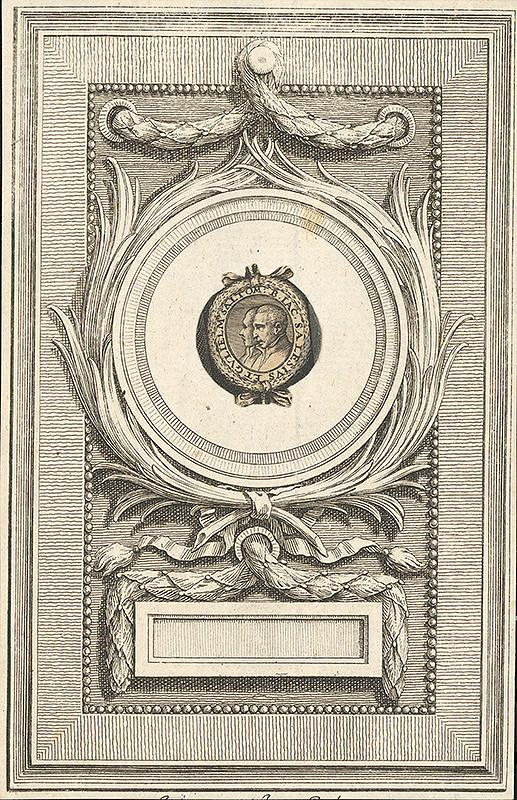 Taliansky grafik z 18. storočia – Dvojportrét