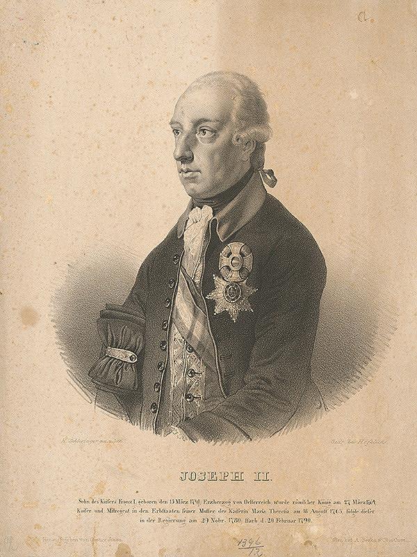 Heinrich Schlesinger – Portrét Jozefa II.