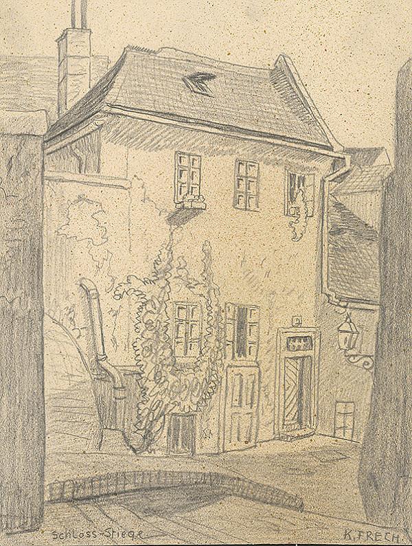 Karol Frech - Meštiansky dom na Zámockých schodoch,