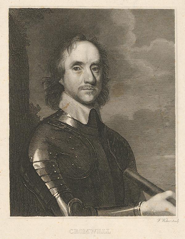 Friedrich Weber – Portrét generála Cromwella