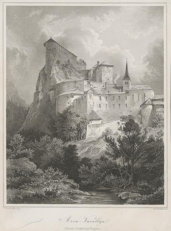 G.A. Troitzsch, Ferdinand Laufberger – Oravský Podzámok