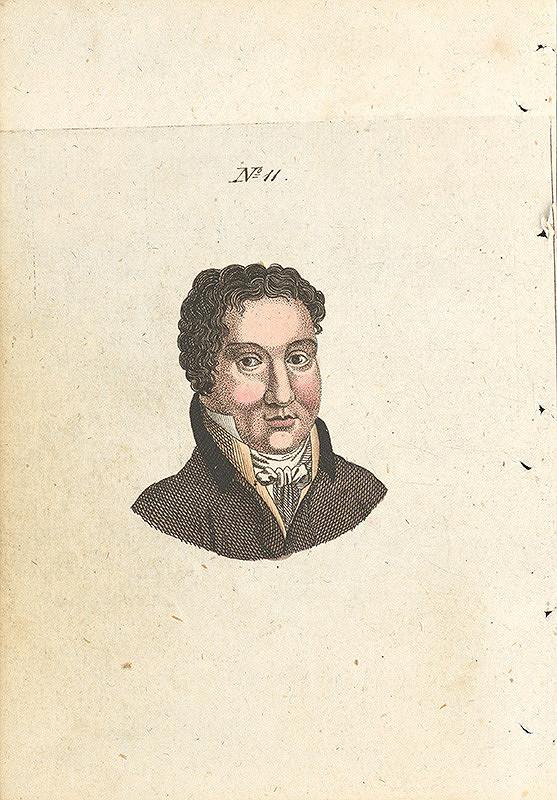 Stredoeurópsky grafik z 19. storočia - Ilustrácia ku knihe Die Kunst in der Liebe und Freundschaft