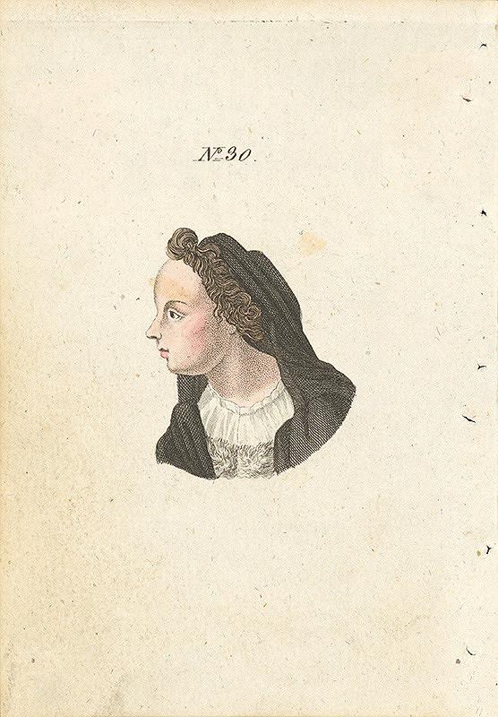 Stredoeurópsky grafik z 19. storočia – Ilustrácia ku knihe Die Kunst in der Liebe und Freundschaft