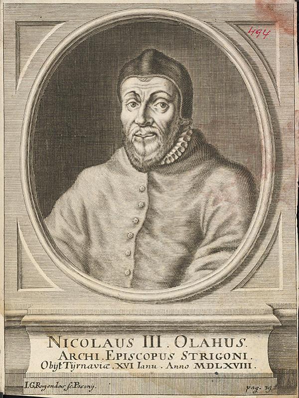 Jeremias Gottlob Rugendas – Portrét Mikuláša III. Oláha