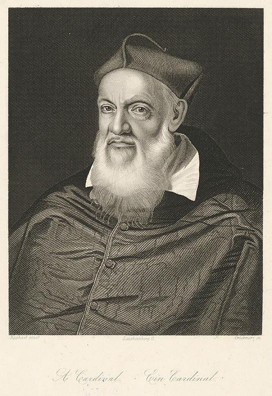 Crickmore, Raffael - Portrét kardinála