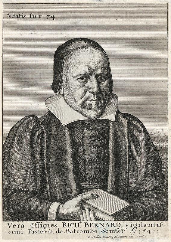 Václav Hollar – Portrét Bernarda Richarda