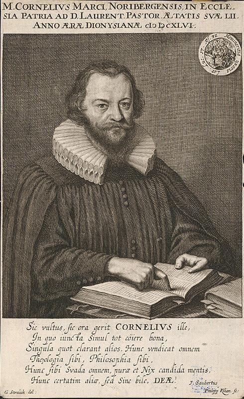 Wolfgang Philipp Kilian, Georg Strauch – Portrét kazateľa Kornelia