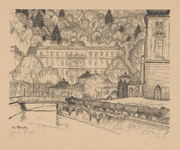 Stredoeurópsky grafik z 20. storočia - Časť mesta