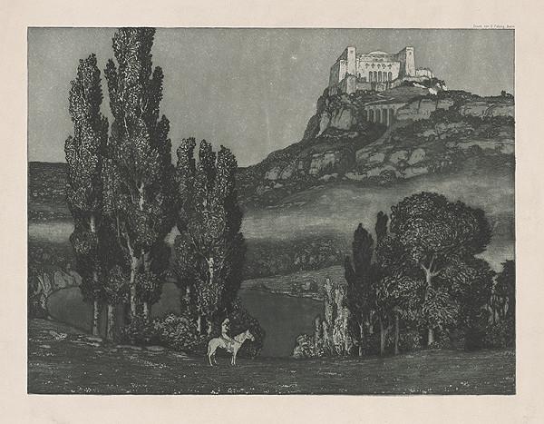 Stredoeurópsky grafik z 20. storočia - Krajina