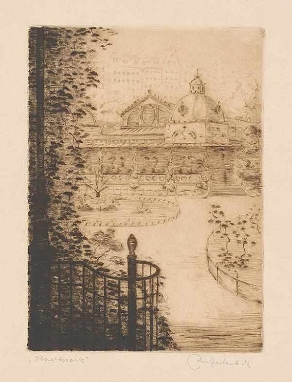 Stredoeurópsky grafik z 20. storočia - Mestský park