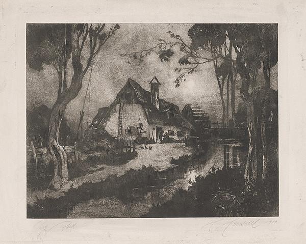 Hugo Henschl – Vodný mlyn