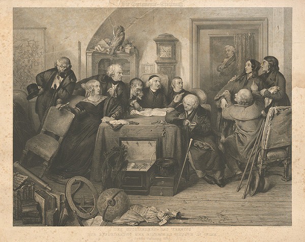 Franz Stöber, Jozef Danhauser – Testament