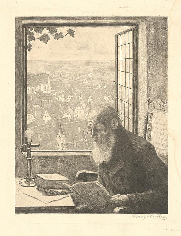 Franz Hecker – Učenec