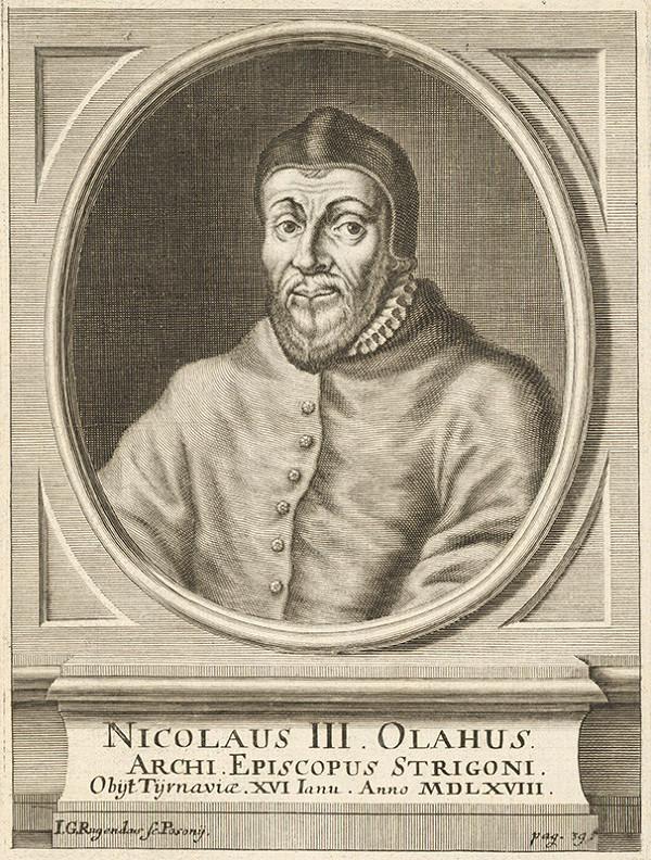Jeremias Gottlob Rugendas – Portrét Mikuláša III. Olaha