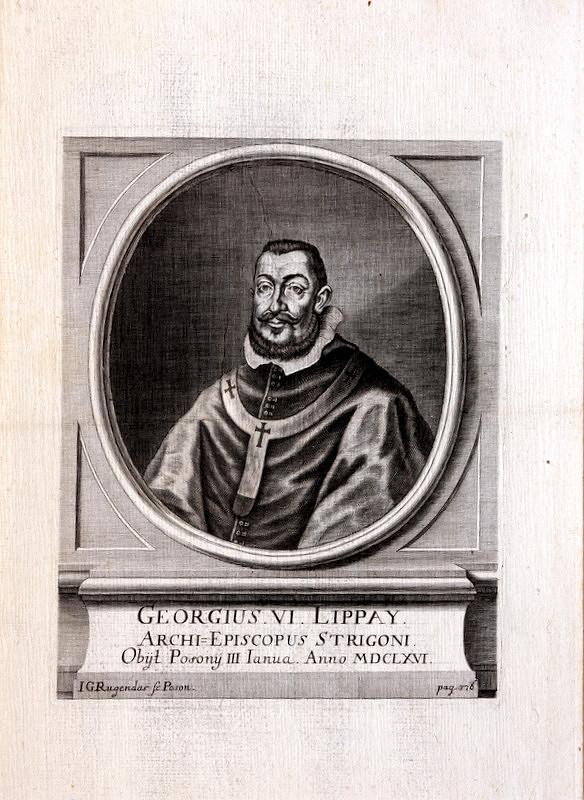 Jeremias Gottlob Rugendas – Portrét Juraja VI. Lippayiho