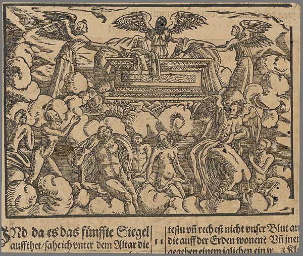 Stredoeurópsky grafik zo 16. storočia - Výjav zo Starého zákona 8.