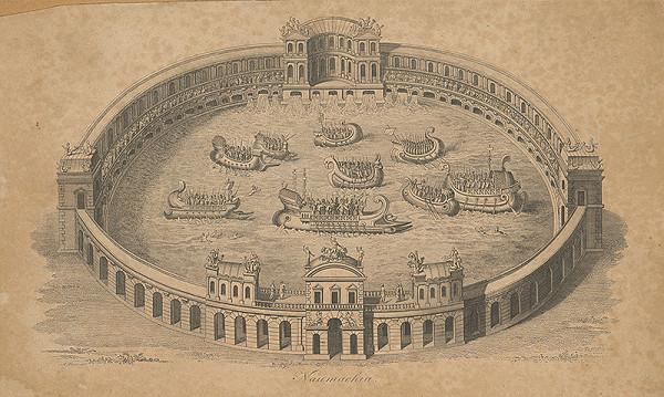 Stredoeurópsky grafik z 18. storočia – Naumachia