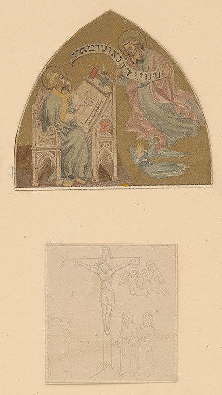 Stredoeurópsky grafik z prelomu 19. - 20. storočia – Dva náboženské výjavy
