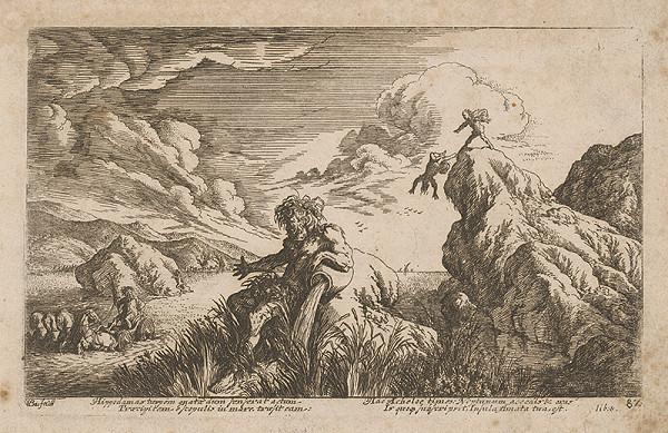 Stredoeurópsky grafik zo 17. storočia – Mytologický výjav